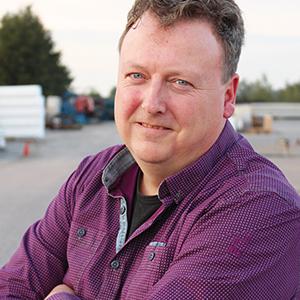 Edwin Kronemeijer werkzaam bij Combex bouwlogistiek