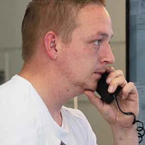 Hendrik Wagenaar werkzaam bij Combex bouwlogistiek