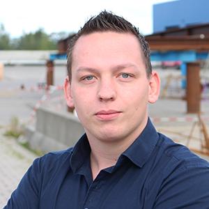 Marten Wagenaar werkzaam bij Combex bouwlogistiek