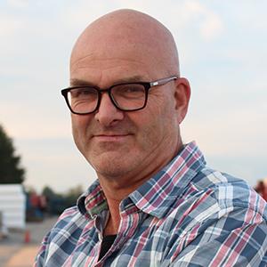 Pieter Top werkzaam bij Combex bouwlogistiek