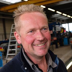 Robert Bijl werkzaam bij Combex bouwlogistiek