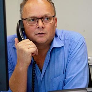 Thijs Pander werkzaam bij Combex bouwlogistiek